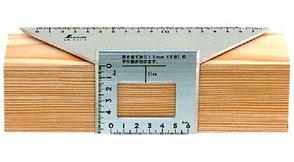 Шаблон угловой Shinwa, 200*63*73мм