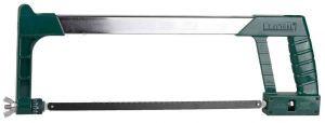 """Ножовка KRAFTOOL """"PRO"""" по мет, Би-металл полотно, рычажн, особо высок натяжение полотна, обрезин рукоятка, 300"""