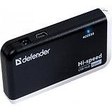 Defender 83504 QUADRO INFIX Универсальный USB разветвитель USB 2.0, 4 порта, фото 2