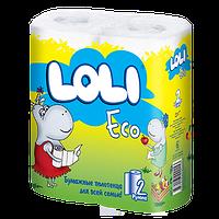 Бумажные полотенца Loli ECO 2 рул. 2 слоя