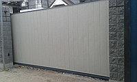 Изготовление консольных ворот из панелей с шумоизоляцией