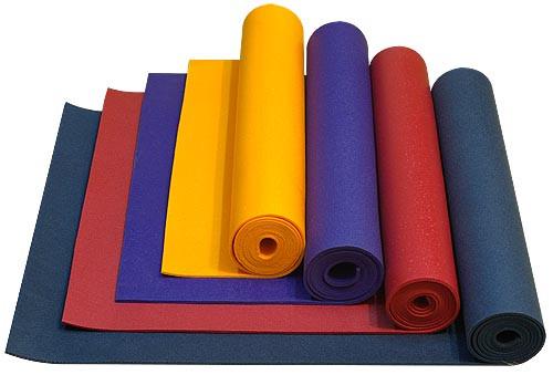 Коврик для йоги и фитнеса (йогамат) 3 мм - фото 1