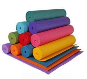 Коврик для йоги и фитнеса (йогамат) 6 мм - фото 1