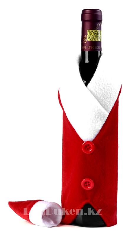 Чехол на бутылку (Christmas gifts) новогодний - фото 2