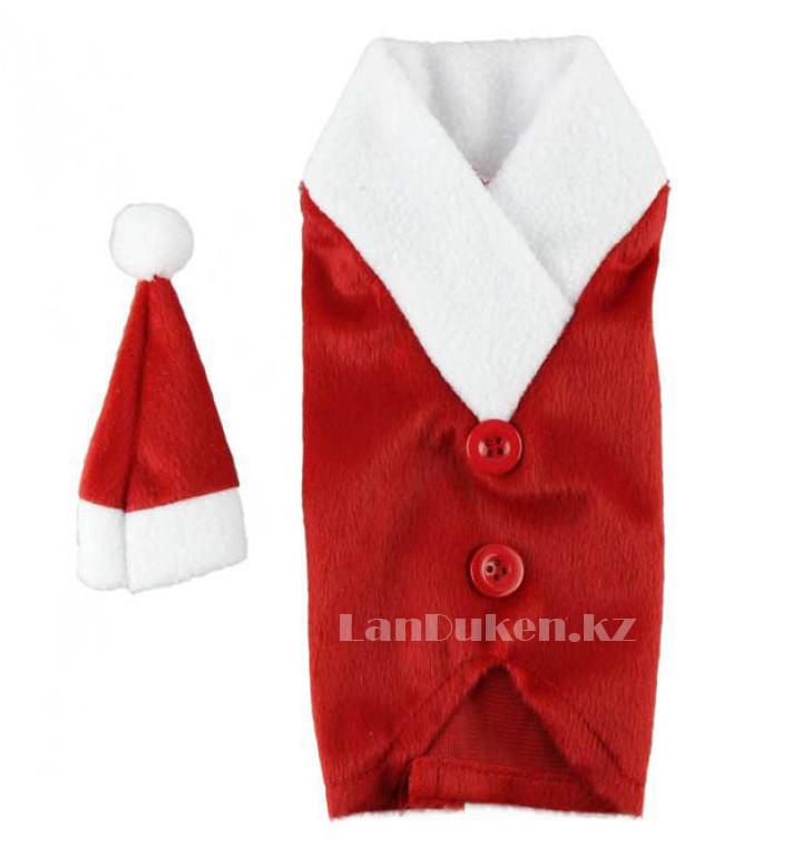 Чехол на бутылку (Christmas gifts) новогодний - фото 3