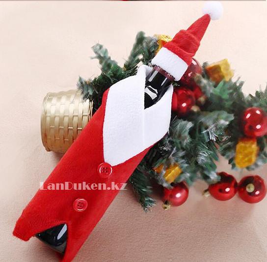 Чехол на бутылку (Christmas gifts) новогодний - фото 1