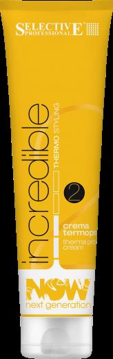 Термозащитный крем для укладки волос Selective Professional Now Next Generation Incredible 150 мл.