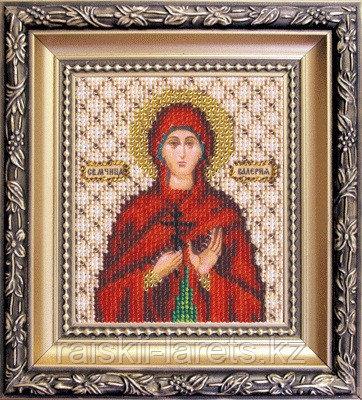 """Набор для вышивания бисером """"Икона святая мученица Валерия """" Б-1099"""