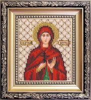 """Набор для вышивания бисером """"Икона святая мученица Наталия """" Б-1027"""