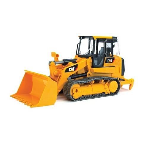 Bruder Игрушечный Трактор гусеничный CAT c погрузчиком (Брудер)