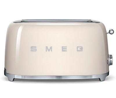 Тостер Smeg TSF01CREU (кремовый)