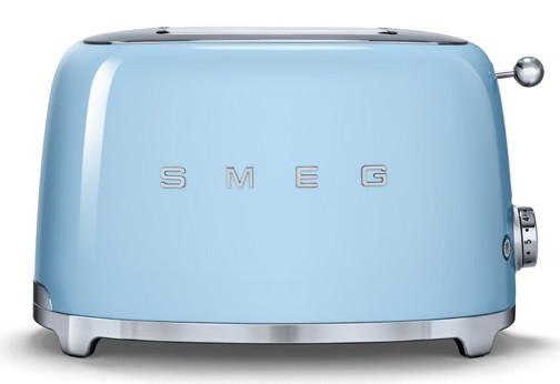 Тостер Smeg TSF01PBEU (пастельный голубой)