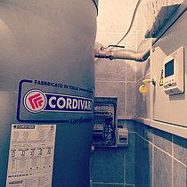 Теплоаккумуляторный бак Cordivari 1 VT 1000 л Индукционный котел ВИН-15