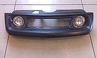 Решетка радиатора с ПТФ Лада 110, фото 1