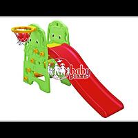 Детская горка Edu-Play Медвежонок WJ-313