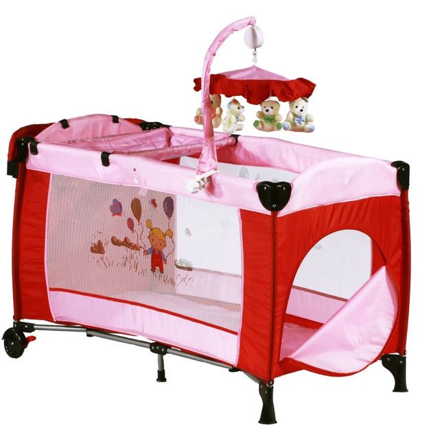 Кровать-манеж 2 в 1 для новорожденных