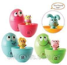 Бани - Угадай где, развивающая игрушка в яйце