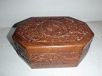 Шкатулка деревянная