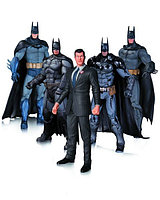 "DC Collectibles ""Batman Arkham Asylum"" - набор из 5 фигурок Бэтмена"