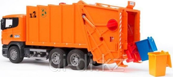 Мусоровоз Scania (оранжевый)
