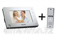 Kocom KCV-A374+KC-MC24,   цветной видео домофон
