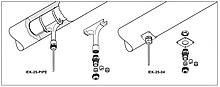 Наборы для уплотнения прохода через теплоизоляцию IEK-25-PIPE и IEK-25-04
