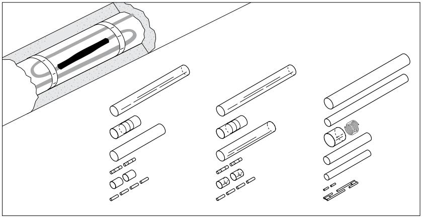 Термоусаживаемый набор для сращивания S-19/S-21/S-69