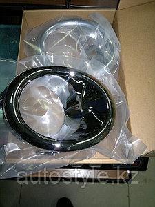 Хром Nissan Patrol 2010+... (Y62) ободки противотуманных фар (для комплектации Sity)