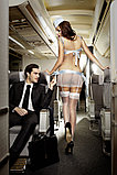 Сексуальный Костюм «Улетная Стюардесса»голубой, фото 7