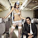 Сексуальный Костюм «Улетная Стюардесса»голубой, фото 8