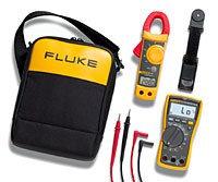 FLUKE 117/322 - мультиметр цифровой + токовые клещи FLUKE 322