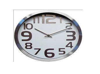 Часы настенные алюминиевые