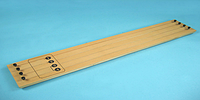 Прибор для демонстрации зависимости сопротивления проводника от его длины,сечения и материала
