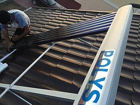 Солнечная водонагревательная система HP90 на ГВС и поддержку отопления, Family Village, г. Астана 2