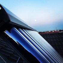 Солнечная водонагревательная система HP90 на ГВС и поддержку отопления, Family Village, г. Астана 3