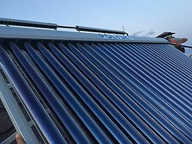 Солнечная водонагревательная система HP90 на ГВС и поддержку отопления, Family Village, г. Астана 7