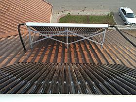 Солнечная водонагревательная система HP90 на ГВС и поддержку отопления, Family Village, г. Астана 8