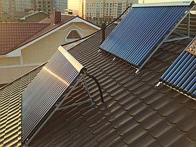 Солнечная водонагревательная система HP90 на ГВС и поддержку отопления, Family Village, г. Астана 9