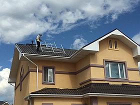 Солнечная водонагревательная система HP90 на ГВС и поддержку отопления, Family Village, г. Астана 1