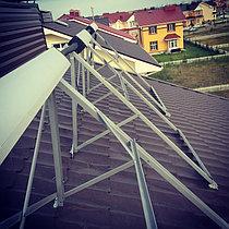 Солнечная водонагревательная система HP50 на ГВС и поддержку отопления, Family Village, г. Астана 2