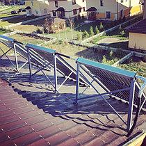 Солнечная водонагревательная система HP50 на ГВС и поддержку отопления, Family Village, г. Астана 3
