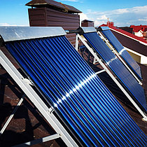 Солнечная водонагревательная система HP50 на ГВС и поддержку отопления, Family Village, г. Астана 5