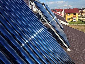 Солнечная водонагревательная система HP50 на ГВС и поддержку отопления, Family Village, г. Астана 6