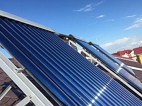 Солнечная водонагревательная система HP50 на ГВС и поддержку отопления, Family Village, г. Астана 7