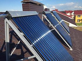 Солнечная водонагревательная система HP50 на ГВС и поддержку отопления, Family Village, г. Астана 1