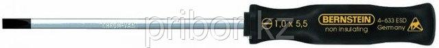 Отвертка шлицевая -5.5х100мм Bernstein 4-633