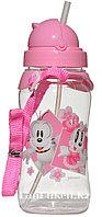 Детская бутылочка 450 мл (розовая)