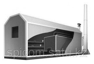 Модульная котельная установка МКУ-1,6 - фото 1