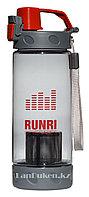 Бутылочка для воды RUNRI Beverages 550 мл, емкость для воды (с заварником) красная