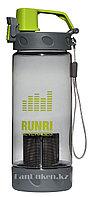 Бутылочка для воды RUNRI Beverages 550 мл, емкость для воды (с заварником) зеленая
